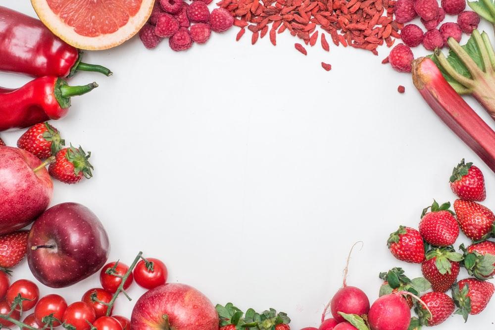赤い果物・野菜