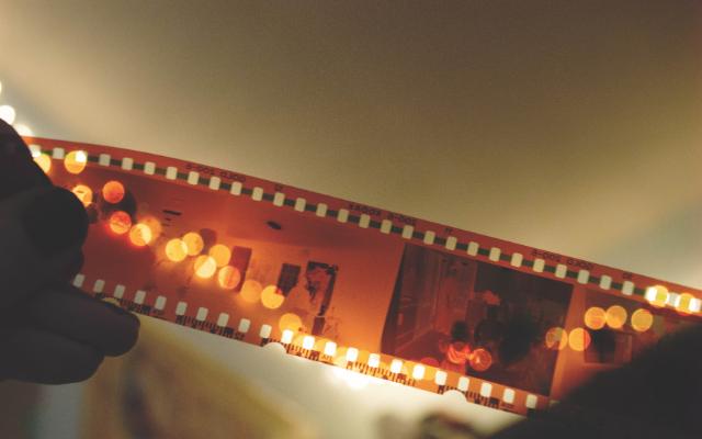 映画のフィルム画像