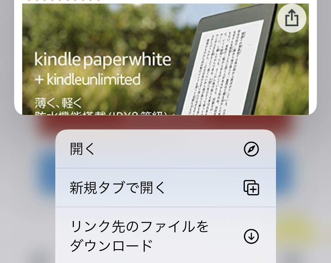 Kindle paperwhiteのオプション付き