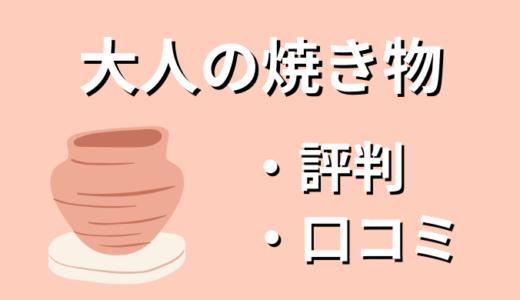 【解説】大人の焼き物の口コミ・評判【オンラインショップ】